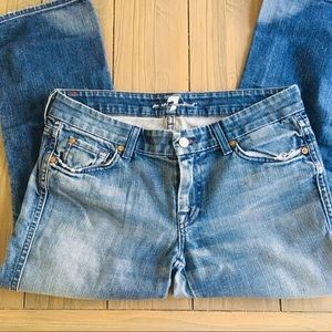 7 for all Mankind Crop A Jeans